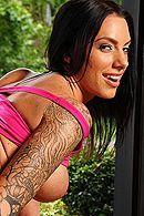 Смотреть порно тренера йоги с татуированной стройной брюнеткой #3
