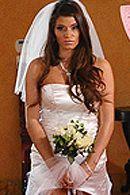 Красивый секс с сексуальной шатенкой невестой #5