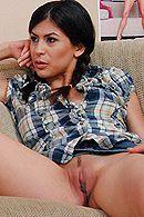 Страстный секс лысого с молодой подружкой #5
