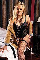 Смотреть красивый секс с молодой блондинкой в эротическом белье #1