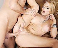 Красивое порно бизнесмена с сексуальной блондинкой в очках - 4