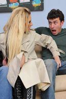 Двойное проникновение с сексуальной ненасытной блондинкой #5