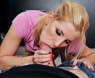 Жесткий анал сексуальной блондинки с пленником красотки - 2
