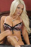 Горячее порно сексуальной блондинки с незнакомцем в подъезде #5
