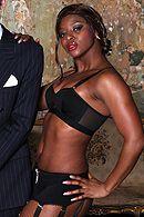 Смотреть жесткий межрасовый секс с ненасытной пышной негритоской #5