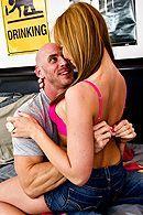 Горячее порно с привлекательной молодой блондинкой #5