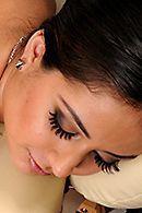 Нежный секс массажиста с латинкой с большой попкой #5