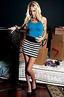 Горячее порно лысого с худенькой привлекательной блондинкой #1