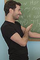 Межрасовый анал в школе с темнокожей брюнеткой #5