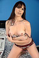 Красивый домашний секс со стройной брюнеткой в обе дырочки #2