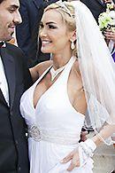 Смотреть секс красивой пышногрудой невесты перед свадьбой #5