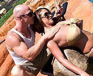 Смотреть шикарный секс у бассейна с женщиной с огромными сиськами - 1