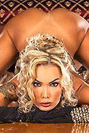 Смотреть анальный трах грудастой блонды #3