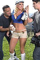 Порно в пизду зрелой блондинки с большими сиськами #5