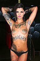 Жесткий секс со стриптизершей в татуировках #3