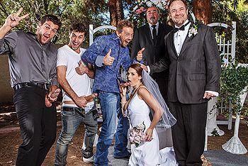 Групповое порно с рыжей невестой