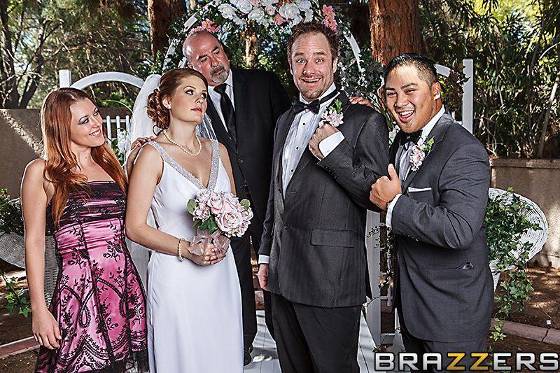 Жесткий групповой секс с невестой на свадьбе фото 10