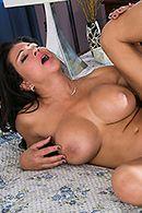 Страстное порно с ненасытной пышной дамой #5