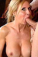 Порно с аппетитной зрелой мамашкой #3