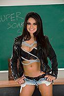Учитель довел горячую студентку до сквирта #1