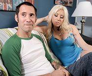 Хороший секс с татуированной блондинкой - 1