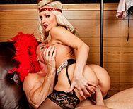 Жаркое порно со зрелой опытной блондинкой - 3
