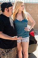 Горячий секс на столе с сексуальной пышной блондинкой #2