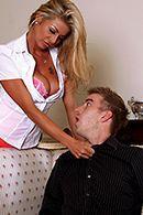 Страстный секс с опытной блондинкой с большими сиськами #2