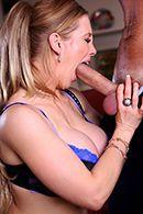 Смотреть анальный секс со зрелой блондинкой в чулках #3