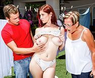 Горячее порно с опытной рыжей женщиной - 1