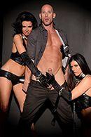 Групповое порно с сексуальными красотками #2