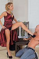 Смотреть безумный секс лысого со зрелой блондинкой #2