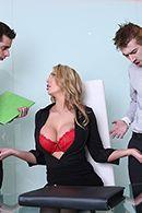 Смотреть горячий секс с пылкой блондинкой в больнице #3