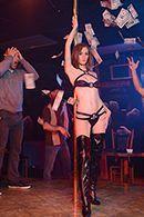 Страстный секс в клубе со стриптизершей #2