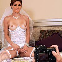 Секс фотографа с невестой перед свадьбой