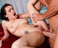 Захватывающий секс с молоденькой дамой после эротических ласк - 5