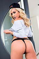 Вагинальное порно красивой блондинки с парнем подруги #5