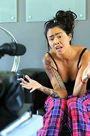 Жаркий секс с азиаткой в татуировках #2