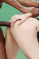 Межрасовый секс со зрелой мамашкой #4