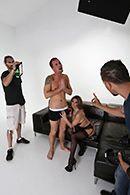 Чувственный секс с моделью в студии #2