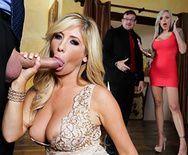 Жаркое порно с богатой зрелой блондинкой - 2