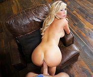 Жаркое порно с богатой зрелой блондинкой - 5