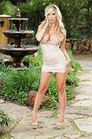 Жаркое порно с богатой зрелой блондинкой #1