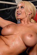Смотреть страстный секс в пизду с спортивной красивой блондой с большими сиськами #4