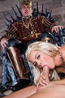 Смотреть вагинальный трах грудастой блондинки #2