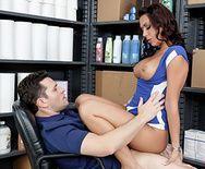 Горячий секс парикмахерши с клиентом - 3