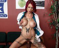 Порно пациента с сексуальной докторшей - 3
