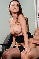 Порно новой секретарши с боссом #5