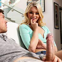 Нежный секс с молодой блондинкой