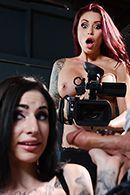 Домашнее порно с развратной рыжей шлюхой #2